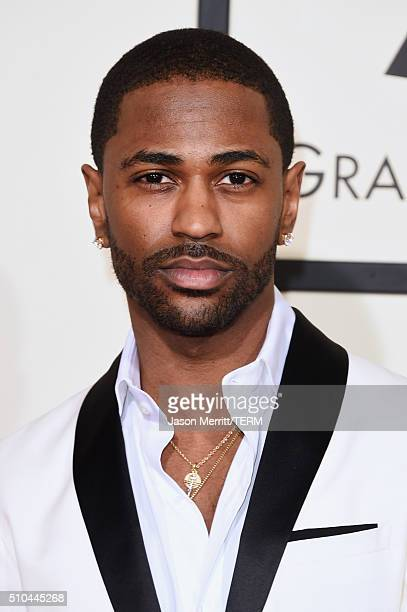Rapper Big Sean attends The 58th GRAMMY Awards at Staples Center on February 15 2016 in Los Angeles California