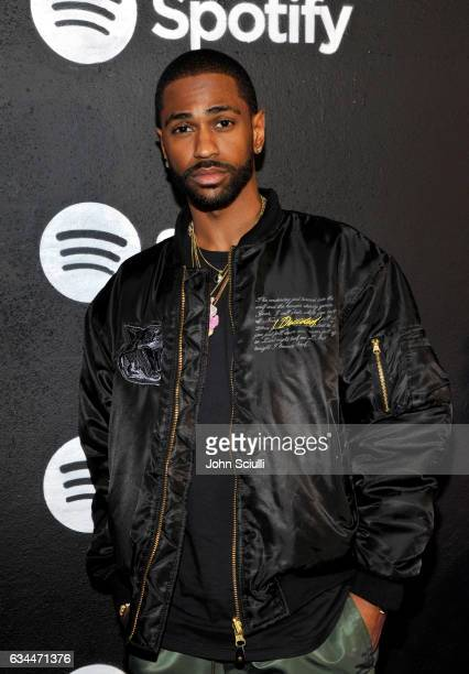 Rapper Big Sean attends the Spotify Best New Artist Nominees celebration at Belasco Theatre on 9 2017 in Los Angeles California