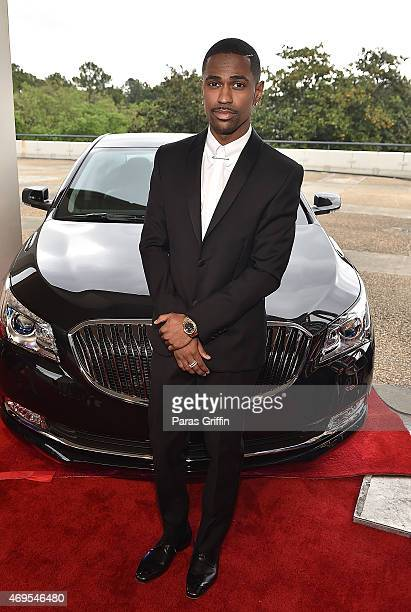Rapper Big Sean attends the UNCF 'An Evening Of Stars' at Boisfeuillet Jones Atlanta Civic Center on April 12 2015 in Atlanta Georgia