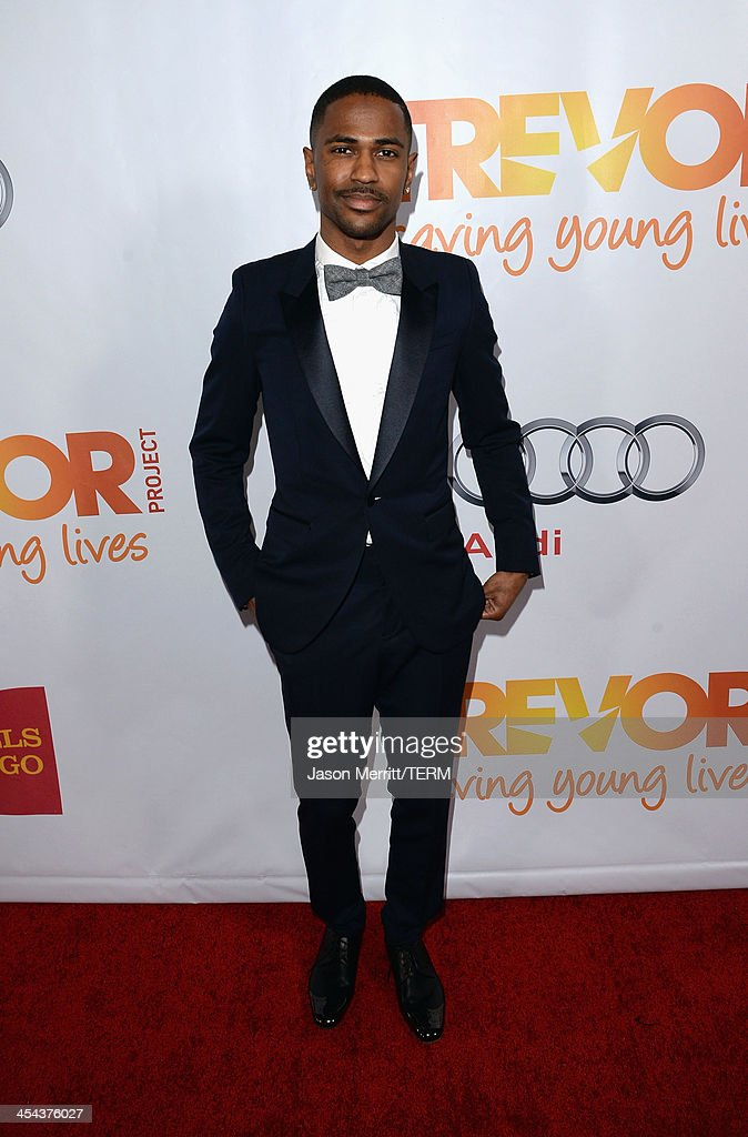 Rapper <a gi-track='captionPersonalityLinkClicked' href=/galleries/search?phrase=Big+Sean&family=editorial&specificpeople=4449582 ng-click='$event.stopPropagation()'>Big Sean</a> attends 'TrevorLIVE LA' honoring Jane Lynch and Toyota for the Trevor Project at Hollywood Palladium on December 8, 2013 in Hollywood, California.