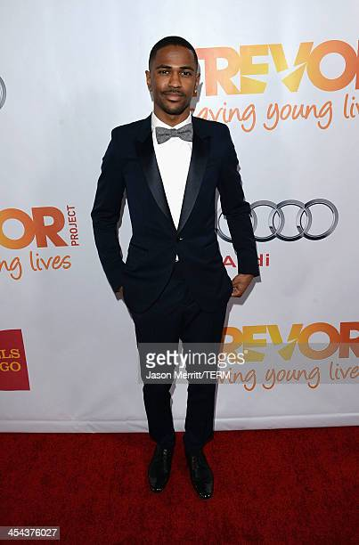 Rapper Big Sean attends 'TrevorLIVE LA' honoring Jane Lynch and Toyota for the Trevor Project at Hollywood Palladium on December 8 2013 in Hollywood...