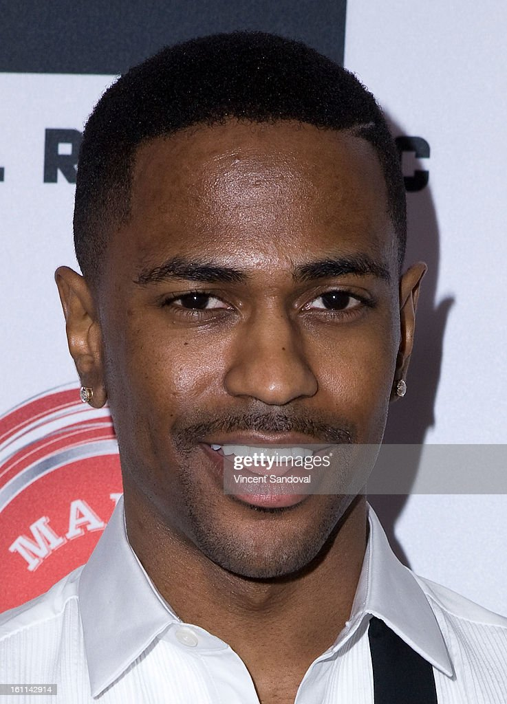 Rapper <a gi-track='captionPersonalityLinkClicked' href=/galleries/search?phrase=Big+Sean&family=editorial&specificpeople=4449582 ng-click='$event.stopPropagation()'>Big Sean</a> attends VIBE Magazine's 20th anniversary celebration with inaugural impact awards - Arrivals at Sunset Tower on February 8, 2013 in West Hollywood, California.