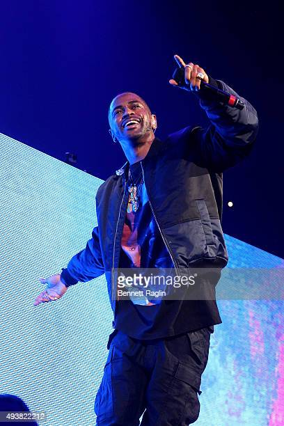 Rapper Big Sean performs onstage during 1051's Powerhouse 2015 at the Barclays Center on October 22 2015 in Brooklyn NY