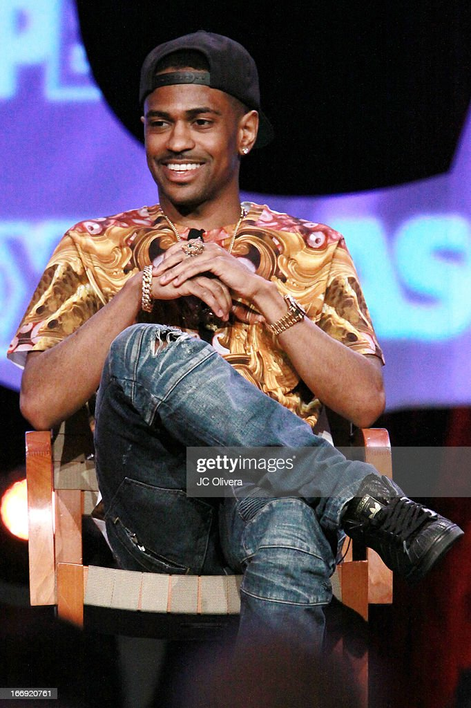 Rapper Big Sean speaks at the 8th Annual ASCAP 'I Create Music' EXPO at Loews Hollywood Hotel on April 18, 2013 in Hollywood, California.