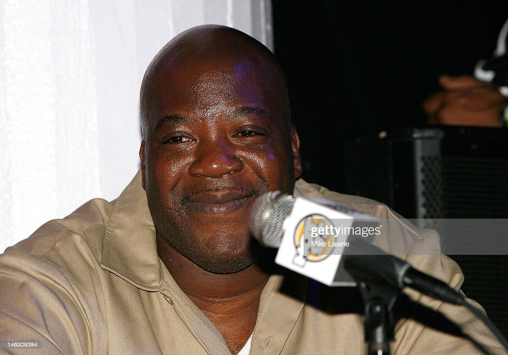 Rapper Billy Danze of M.O.P. during the 2012 Rock the Bells Festival press conference and Fan Appreciation Party on at Santos Party House on June 13, 2012 in New York City.