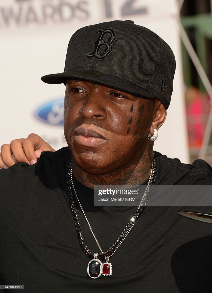 Rapper Birdman arrives at the 2012 BET Awards at The Shrine Auditorium on July 1 2012 in Los Angeles California