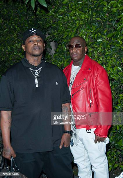 Rapper Birdman attends Travis Scott Music Video Premiere Party For 'Pick Up The Phone 90210' on August 12 2016 in Hollywood California