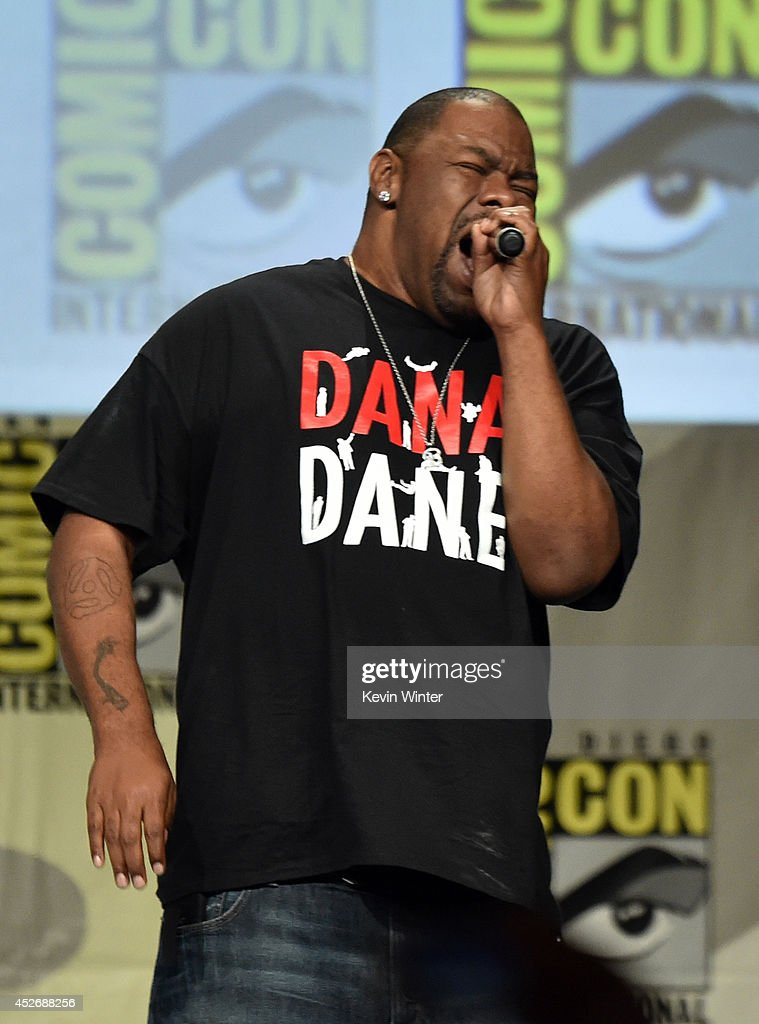 Rapper Biz Markie attends the 20th Century Fox presentation during Comic-Con International 2014 at San Diego Convention Center on July 25, 2014 in San Diego, California.