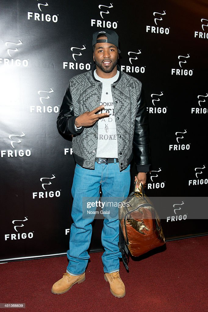 Rapper BK Brasco attends the launch party of the Frigo Pop-Up Store on November 21, 2013 in New York City.