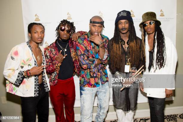 Rapper BoB and Hero The Band attend the Recording Academy Atlanta Chapter Annual Membership Celebration at The Buckhead Theatre on July 20 2017 in...