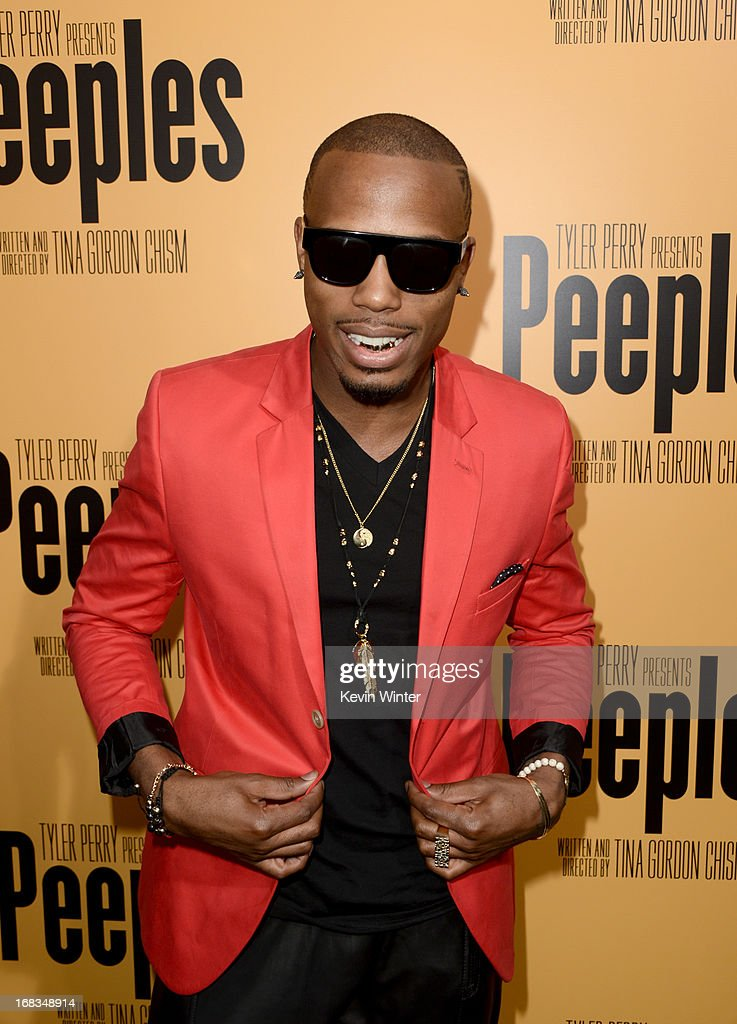 Rapper <a gi-track='captionPersonalityLinkClicked' href=/galleries/search?phrase=B.O.B&family=editorial&specificpeople=5624724 ng-click='$event.stopPropagation()'>B.O.B</a> arrives at the premiere of 'Peeples' presented by Lionsgate Film and Tyler Perry at ArcLight Hollywood on May 8, 2013 in Hollywood, California.