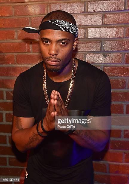 Rapper BoB attends Sevyn Streeter 'Don't Kill The Fun' live private performance at 595 North on April 9 2015 in Atlanta Georgia