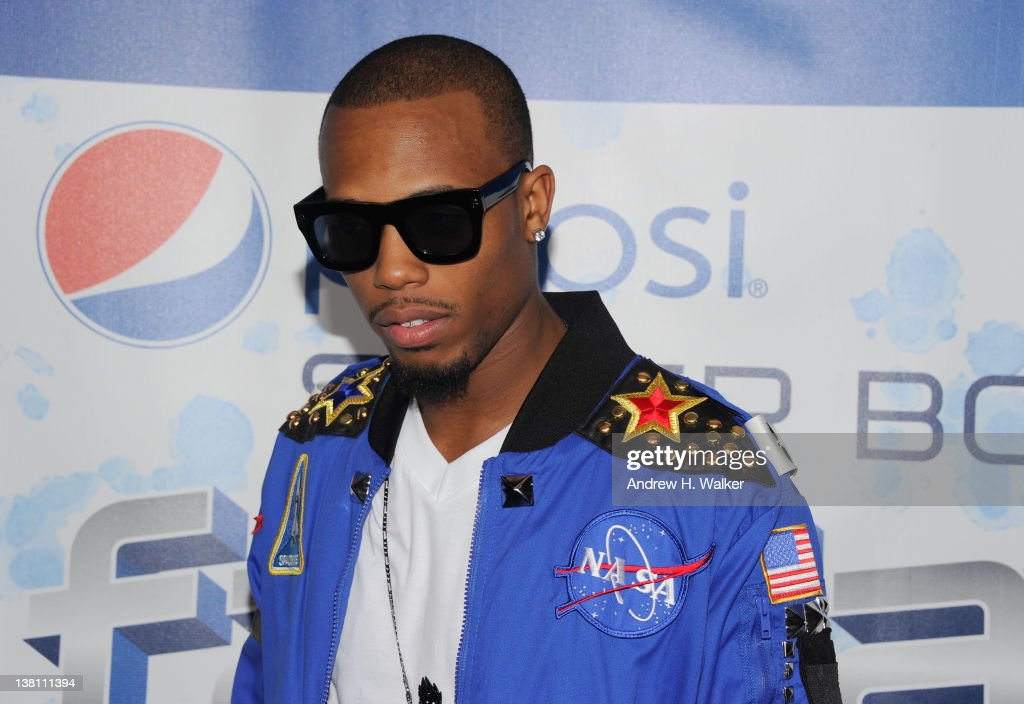 Rapper BoB attends Vh1 Pepsi Super Bowl Fan Jam with Gym Class Heroes BoB and AllAmerican Rejects held at Indiana State Fairgrounds Pepsi Coliseum on...