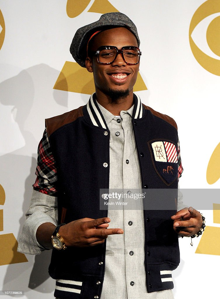 Rapper BoB poses in the press room during the GRAMMY Nominations Concert Live at Club Nokia on December 1 2010 in Los Angeles California