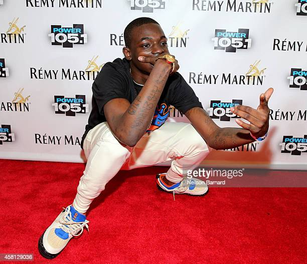 Rapper Bobby Shmurda attends Power 1051's Powerhouse 2014 at Barclays Center of Brooklyn on October 30 2014 in New York City