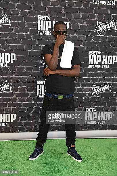 Rapper Bobby Shmurda attends the BET Hip Hop Awards 2014 at Boisfeuillet Jones Atlanta Civic Center on September 20 2014 in Atlanta Georgia