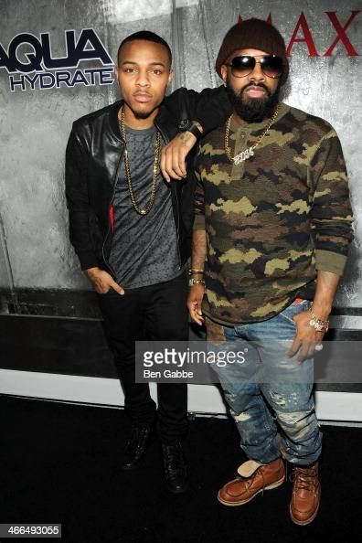 Rapper Bow Wow and producer Jermaine Dupri attend MAXIM Magazine's 'Big Game Weekend' Sponsored By AQUAhydrate on February 1 2014 in New York City
