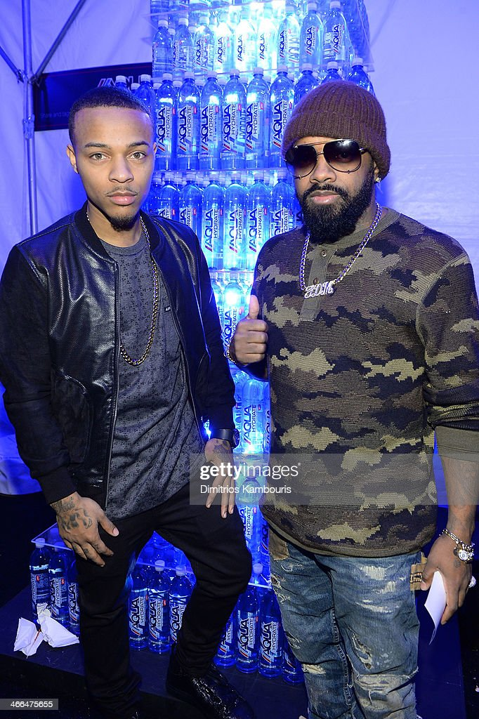 Rapper <a gi-track='captionPersonalityLinkClicked' href=/galleries/search?phrase=Bow+Wow+-+Rapper&family=editorial&specificpeople=211211 ng-click='$event.stopPropagation()'>Bow Wow</a> (L) and producer <a gi-track='captionPersonalityLinkClicked' href=/galleries/search?phrase=Jermaine+Dupri&family=editorial&specificpeople=201712 ng-click='$event.stopPropagation()'>Jermaine Dupri</a> attend Talent Resources Sports presents MAXIM 'BIG GAME WEEKEND' sponsored by AQUAhydrat, Heavenly Resorts, Wonderful Pistachios, Touch by Alyssa Milano, and Philippe Chow on February 1, 2014 in New York City.