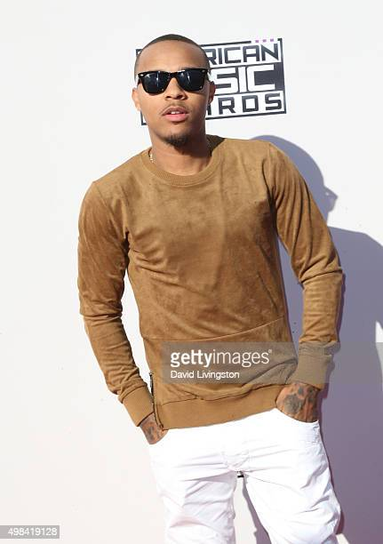 Rapper Bow Wow arrives at the 2015 American Music Awards at Microsoft Theater on November 22 2015 in Los Angeles California