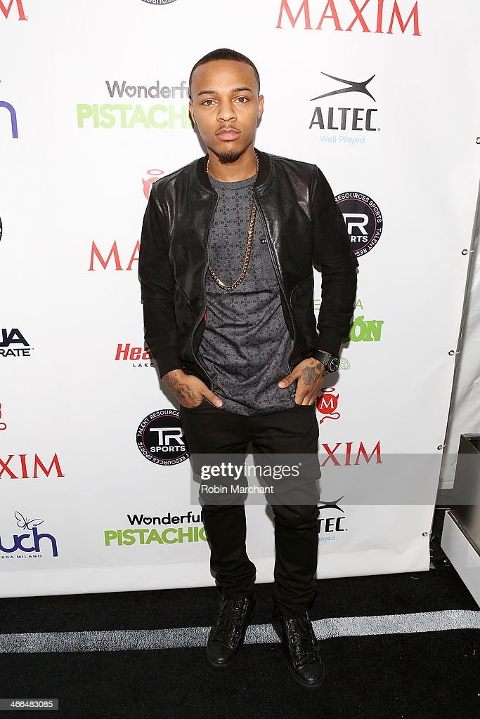 Rapper <a gi-track='captionPersonalityLinkClicked' href=/galleries/search?phrase=Bow+Wow+-+Rapper&family=editorial&specificpeople=211211 ng-click='$event.stopPropagation()'>Bow Wow</a> attends Talent Resources Sports presents MAXIM 'BIG GAME WEEKEND' sponsored by AQUAhydrat, Heavenly Resorts, Wonderful Pistachios, Touch by Alyssa Milano, and Philippe Chow on February 1, 2014 in New York City.