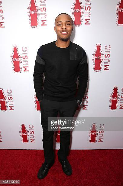 Rapper Bow Wow attends the 2015 American Music Awards Pre Party with CocaCola at the Conga Room on November 20 2015 in Los Angeles California