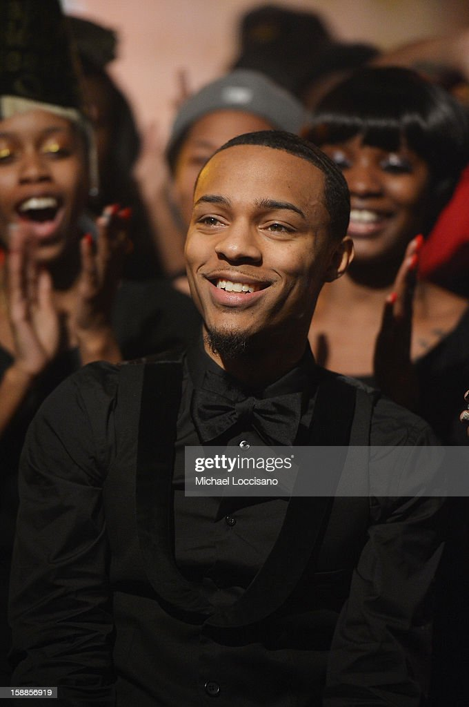 Rapper Bow Wow hosts BET's 106 And Park 2013 New Years Eve Party at BET Studios on December 17, 2012 in New York City.