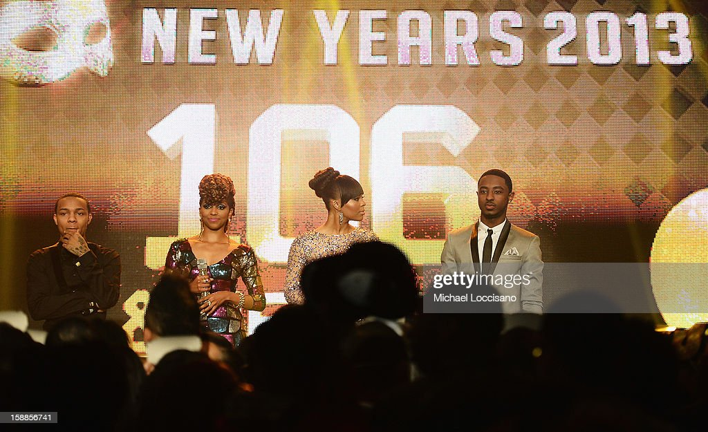 Rapper Bow Wow, Miss Mykie, Paigion and Shorty host BET's 106 And Park 2013 New Years Eve Party at BET Studios on December 17, 2012 in New York City.