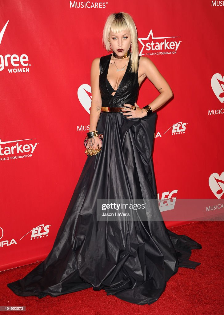 Rapper Brooke Candy attends the 2014 MusiCares Person of the Year honoring Carole King at Los Angeles Convention Center on January 24, 2014 in Los Angeles, California.