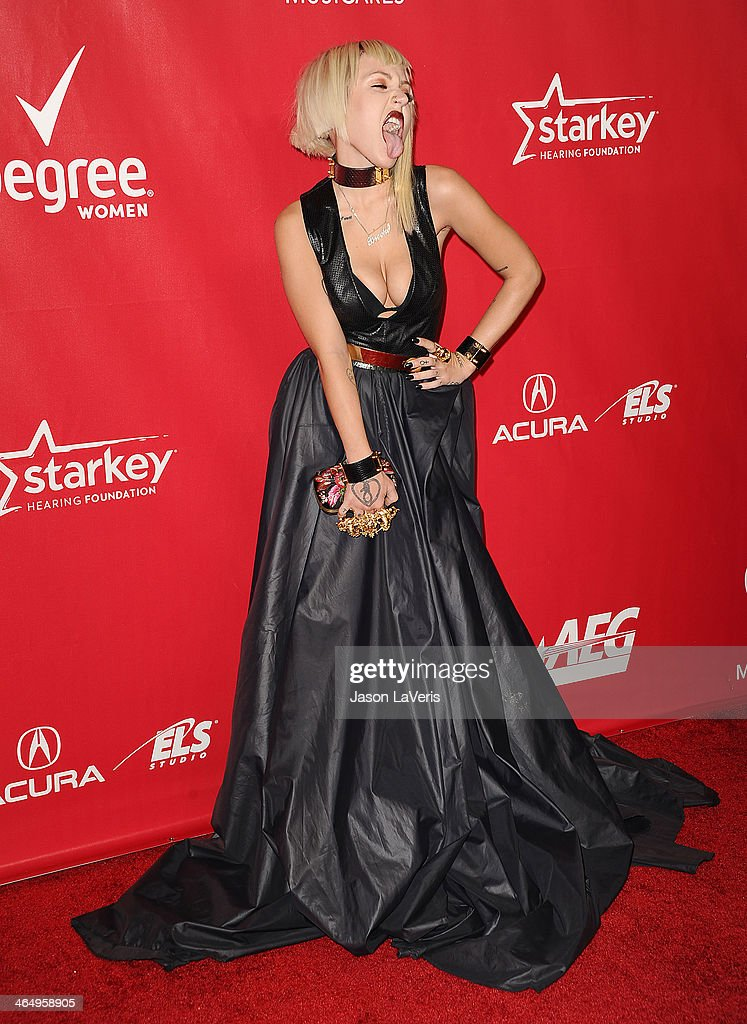 Rapper <a gi-track='captionPersonalityLinkClicked' href=/galleries/search?phrase=Brooke+Candy&family=editorial&specificpeople=10485800 ng-click='$event.stopPropagation()'>Brooke Candy</a> attends the 2014 MusiCares Person of the Year honoring Carole King at Los Angeles Convention Center on January 24, 2014 in Los Angeles, California.
