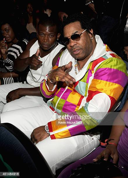 Rapper Busta Rhymes attends the BET AWARDS '14 at Nokia Theatre LA LIVE on June 29 2014 in Los Angeles California