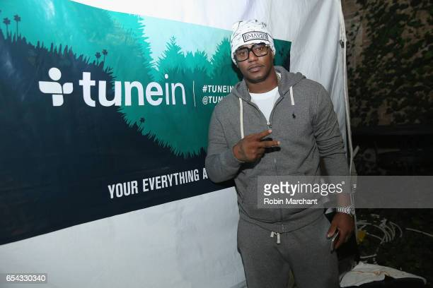 Rapper Cam'ron attends the HipHop Beat Showcase at TuneIn Studios @ SXSW 2017 on Thursday March 16th 2017 in Austin TX