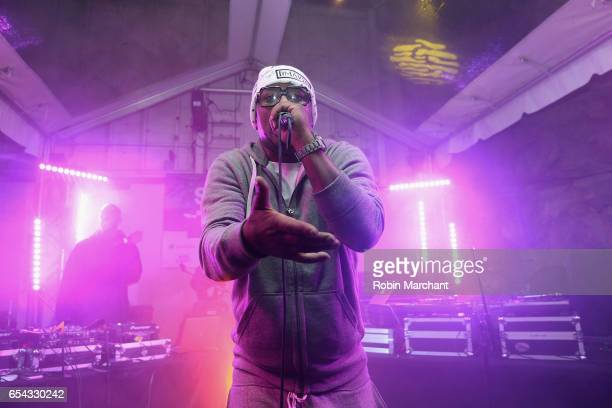 Rapper Cam'ron performs on stage at the HipHop Beat Showcase at TuneIn Studios @ SXSW 2017 on Thursday March 16th 2017 in Austin TX