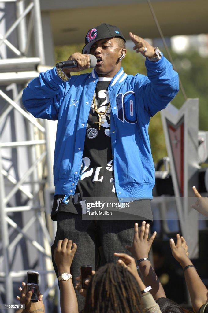 Rapper Cassidy attends the 106 Park preshow before the BET Hip Hop Awards 2007 at the Atlanta Civic Center on October 13 2007 in Atlanta GA