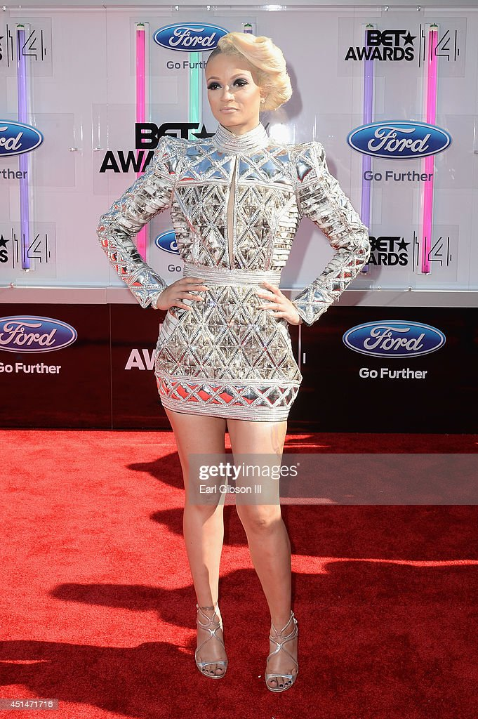 Rapper Charli Baltimore attends the BET AWARDS '14 at Nokia Theatre LA LIVE on June 29 2014 in Los Angeles California