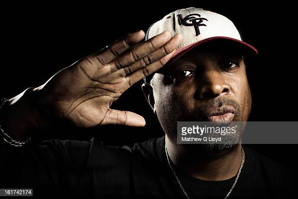 Rapper Chuck D is photographed for the Times on August 7 2012 in London England