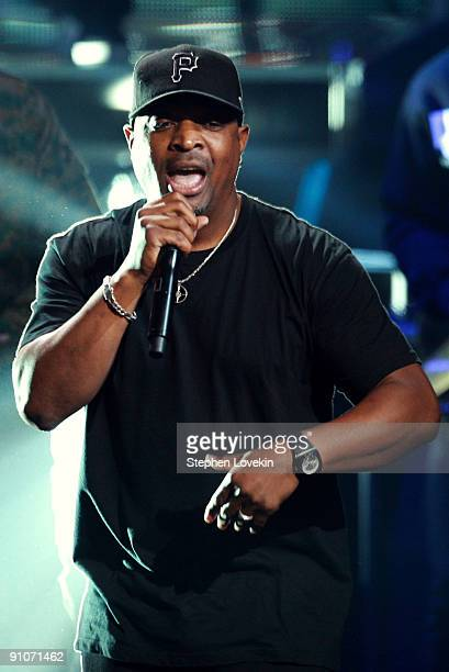 Rapper Chuck D of Public Enemy performs onstage at the 2009 VH1 Hip Hop Honors at the Brooklyn Academy of Music on September 23 2009 in the Brooklyn...