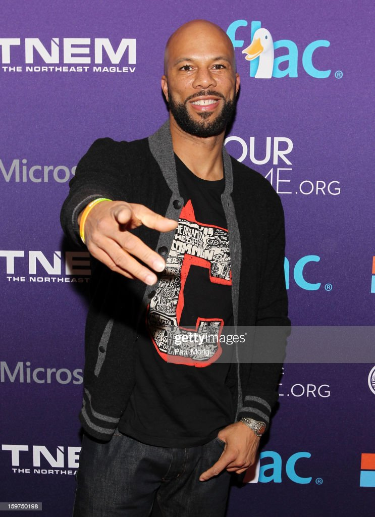 Rapper Common attends the OurTime.org Hosts Inaugural Youth Ball on January 19, 2013 in Washington, DC.