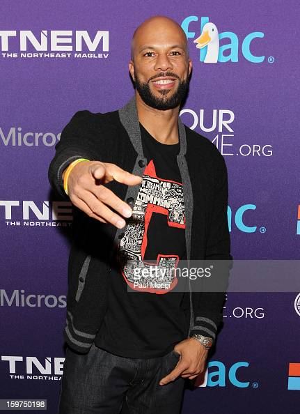 Rapper Common attends the OurTimeorg Hosts Inaugural Youth Ball on January 19 2013 in Washington DC