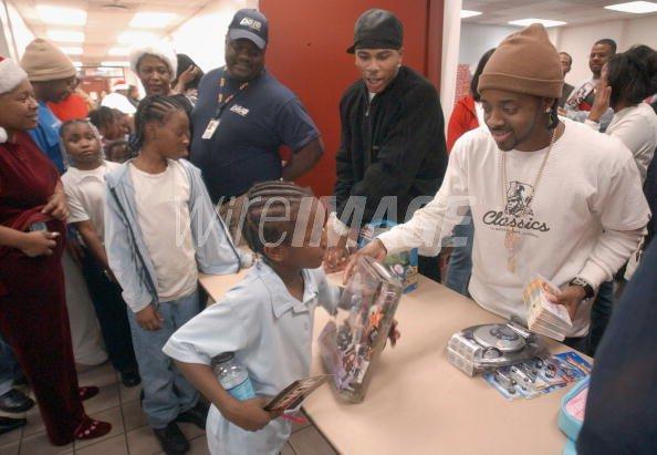 Rapper Cornell Nelly Haynes Jr...
