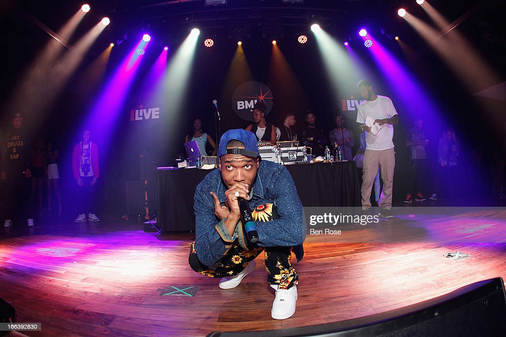 Rapper Curren$y performs during BMI's 15th annual Unsigned Urban showcase at Terminal West on April 11, 2013 in Atlanta, Georgia.