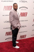 Rapper Curtis '50 Cent' Jackson attends a screening of 'Parker' hosted by FilmDistrict The Cinema Society L'Oreal Paris and Appleton Estate at MOMA...