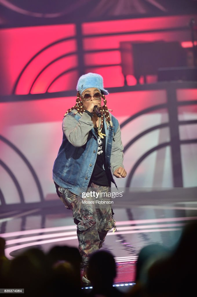 Rapper Da Brat performs onstage at the 2017 Black Music Honors at Tennessee Performing Arts Center on August 18, 2017 in Nashville, Tennessee.