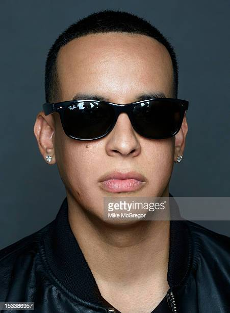 Rapper Daddy Yankee is photographed for Billboard Magazine on September 18 2012 in New York City