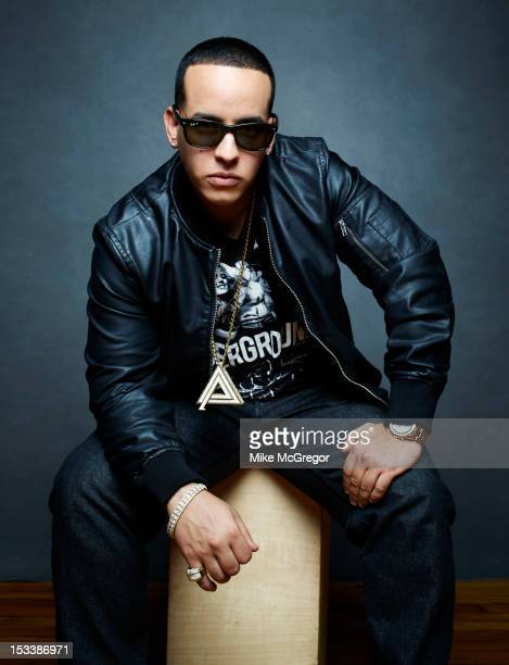 Rapper Daddy Yankee is photographed for Billboard Magazine on September 18 2012 in New York City PUBLISHED IMAGE