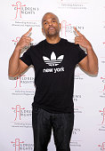 Rapper Darryl 'DMC' McDaniels attends 8th Annual Children's Rights Benefit at Four Seasons Restaurant New York on October 7 2013 in New York City