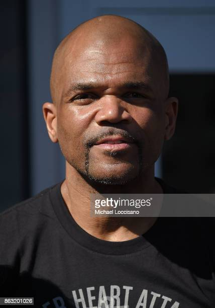 Rapper Darryl DMC McDaniels attends the Grammy Museum Experience Prudential Center ribboncutting ceremony at Prudential Center on October 19 2017 in...
