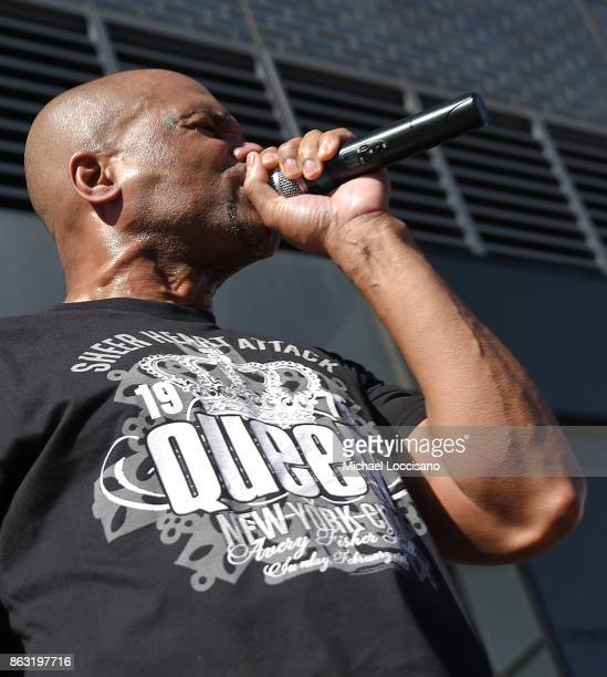 Rapper Darryl DMC McDaniels performs during the Grammy Museum Experience Prudential Center RibbonCutting Ceremony at Prudential Center on October 19...
