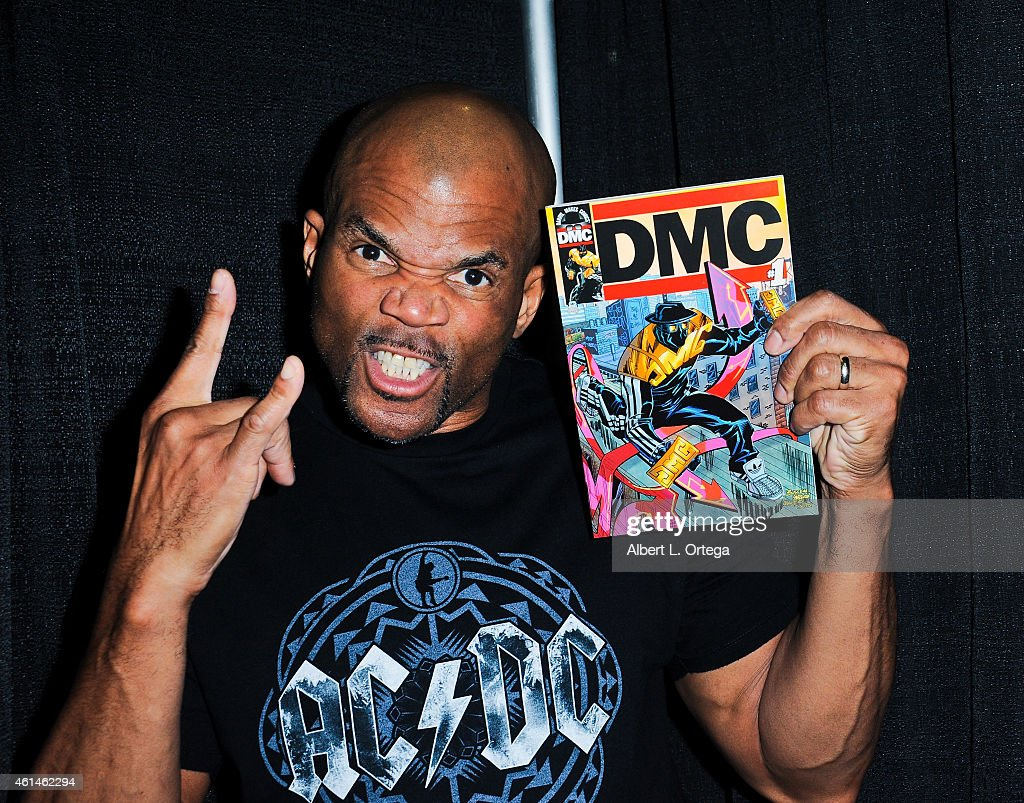 Rapper Darryl Matthews McDaniels KA 'DMC' debuts his comic on Day 2 of the Third Annual Stan Lee's Comikaze Expo held at Los Angeles Convention...
