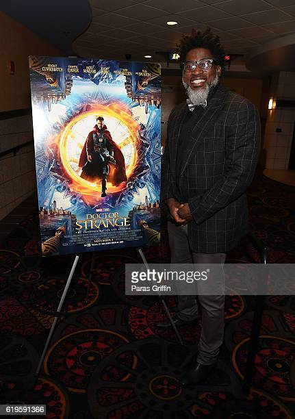 Rapper David Banner attends the 'Doctor Strange' Atlanta screening at Regal Cinemas Atlantic Station Stadium 16 on October 31 2016 in Atlanta Georgia