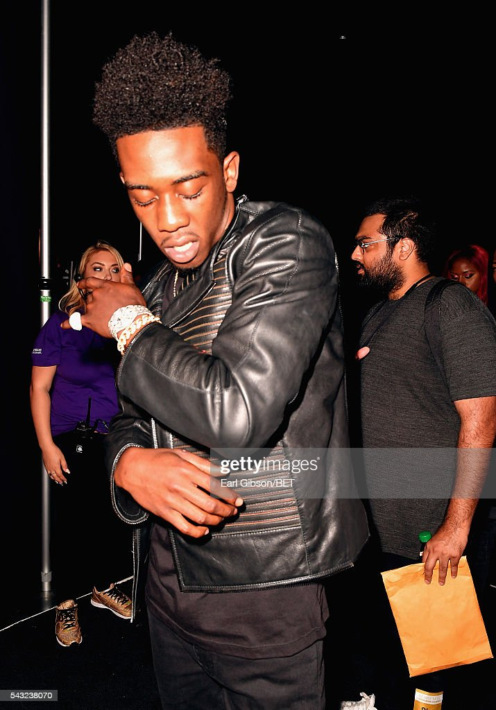 Rapper <a gi-track='captionPersonalityLinkClicked' href=/galleries/search?phrase=Desiigner+-+Rapper&family=editorial&specificpeople=15733824 ng-click='$event.stopPropagation()'>Desiigner</a> attends the 2016 BET Awards at the Microsoft Theater on June 26, 2016 in Los Angeles, California.